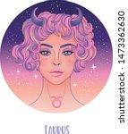 illustration of taurus... | Shutterstock .eps vector #1473362630