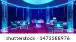 night club or bar interior ... | Shutterstock .eps vector #1473388976