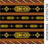 indonesia dayak borneo shield...   Shutterstock .eps vector #1473531746