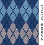 Style Seamless Blue Beige...
