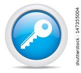 key isolated on white background | Shutterstock .eps vector #147355004
