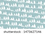 white trees in the forest on a... | Shutterstock .eps vector #1473627146