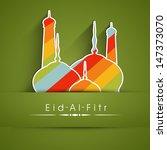 muslim community festival eid... | Shutterstock .eps vector #147373070