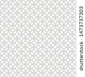 seamless vector pattern in... | Shutterstock .eps vector #1473737303