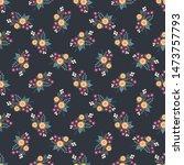 seamless raster ornamental... | Shutterstock . vector #1473757793