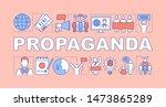 propaganda word concepts banner....