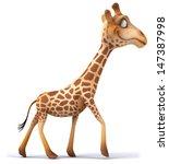 fun giraffe | Shutterstock . vector #147387998