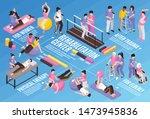 isometric rehabilitation... | Shutterstock .eps vector #1473945836
