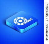 isometric tape measure icon... | Shutterstock .eps vector #1473968513