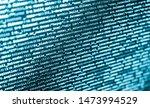 computer script coding source... | Shutterstock . vector #1473994529