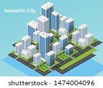 isometric urban megalopolis top ...   Shutterstock .eps vector #1474004096