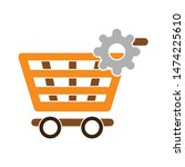 setting product shopping icon....   Shutterstock .eps vector #1474225610
