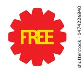 free icon. flat illustration of ...   Shutterstock .eps vector #1474226840