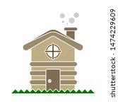 Cabin Icon. Flat Illustration...