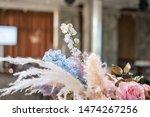 luxury dinner banquet in the... | Shutterstock . vector #1474267256