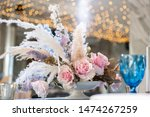 luxury dinner banquet in the... | Shutterstock . vector #1474267259