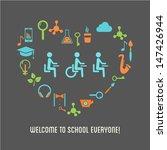 capacidad,artes,actitud,regreso a la escuela,biología,pajarita,pincel,teléfono celular,clase,aula,nube,taza de café,colegio,discapacidad,educación