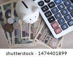 Piggy Bank And Calculator...
