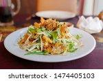 oyster or mussel crispy... | Shutterstock . vector #1474405103