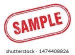 Sample Stamp. Sample Square...