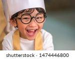 portrait cute little asian...   Shutterstock . vector #1474446800