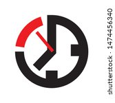 clock icon or symbol  last...   Shutterstock .eps vector #1474456340