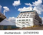 cruise ship in port of odessa ... | Shutterstock . vector #147459590