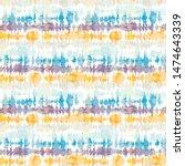 seamless pattern tie dye... | Shutterstock .eps vector #1474643339