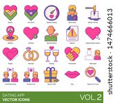 Dating App Icons Including...