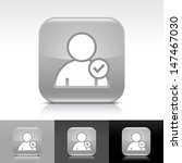 user icon set. gray color...