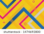 vector abstract background... | Shutterstock .eps vector #1474692800