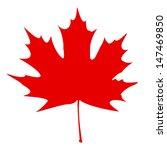 stylized canadian flag. eps10... | Shutterstock .eps vector #147469850