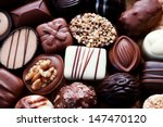 Various Chocolates As A...