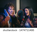 Two Young Singers Performing...