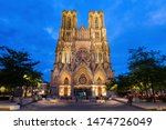 Cathedral Of Our Lady Of Reims. ...