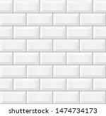 seamless smooth metro tile... | Shutterstock .eps vector #1474734173