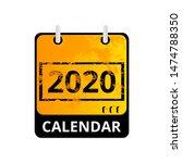 design calendar for 2020 year....