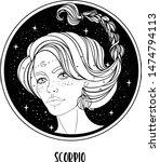 illustration of scorpio... | Shutterstock .eps vector #1474794113