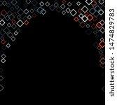 rhombus ornate minimal... | Shutterstock .eps vector #1474829783