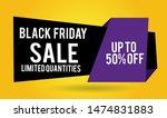 black friday sale banner design.... | Shutterstock .eps vector #1474831883