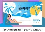 summer sale website landing...