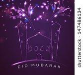 muslim community festival eid... | Shutterstock .eps vector #147486134