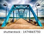Walnut street bridge over the...