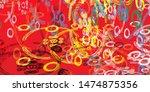 artistic sketch structure...   Shutterstock . vector #1474875356