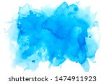 brush paint watercolor abstract ... | Shutterstock . vector #1474911923