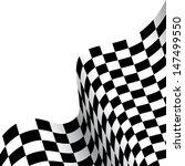 checkered race flag | Shutterstock .eps vector #147499550