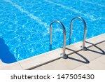 swimming pool   blue spa... | Shutterstock . vector #147505430