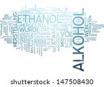 word cloud   alcohol | Shutterstock . vector #147508430