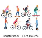 sport outdoor sportive bicycle... | Shutterstock .eps vector #1475153393