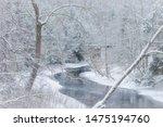 Snow Along Gauley River ...
